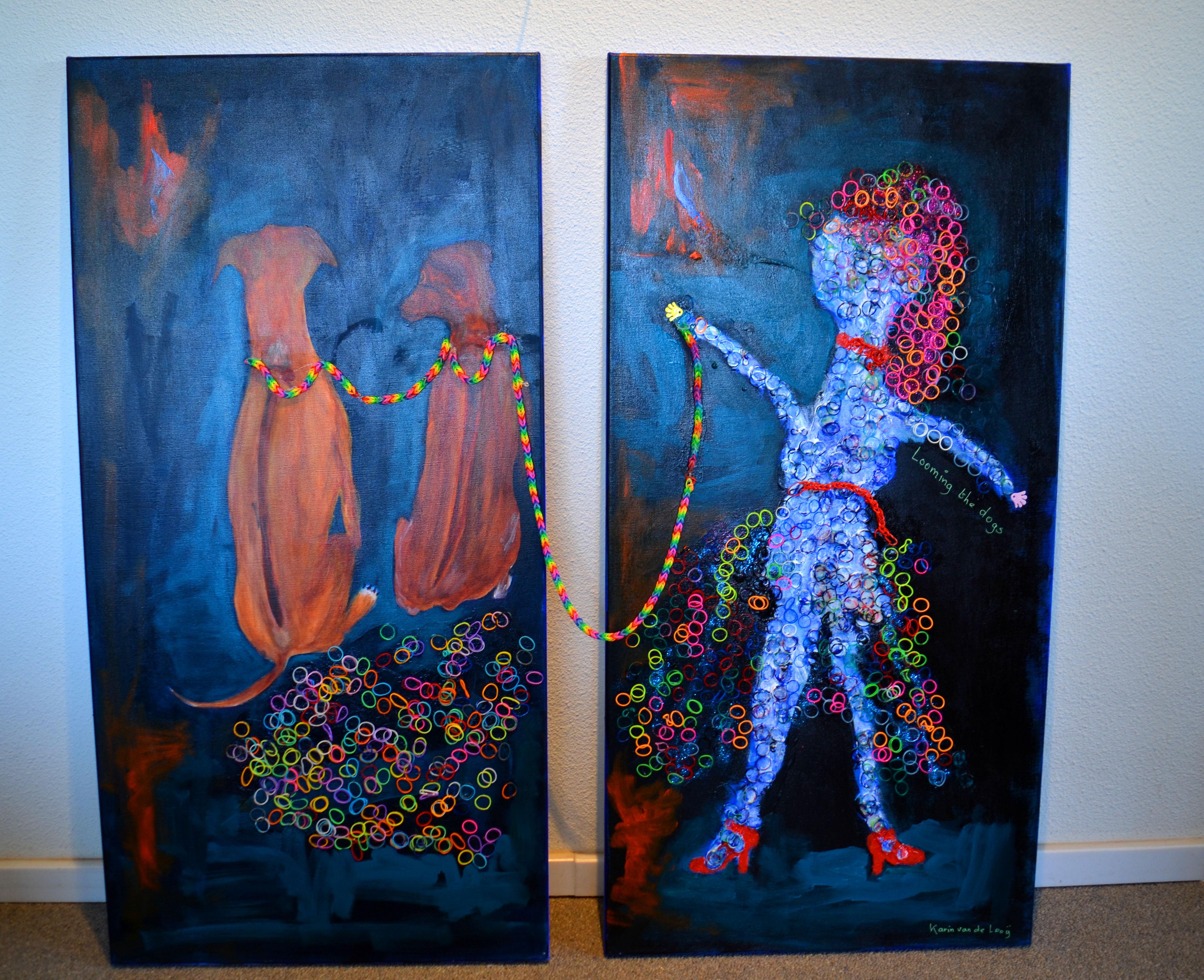 schilderij samen