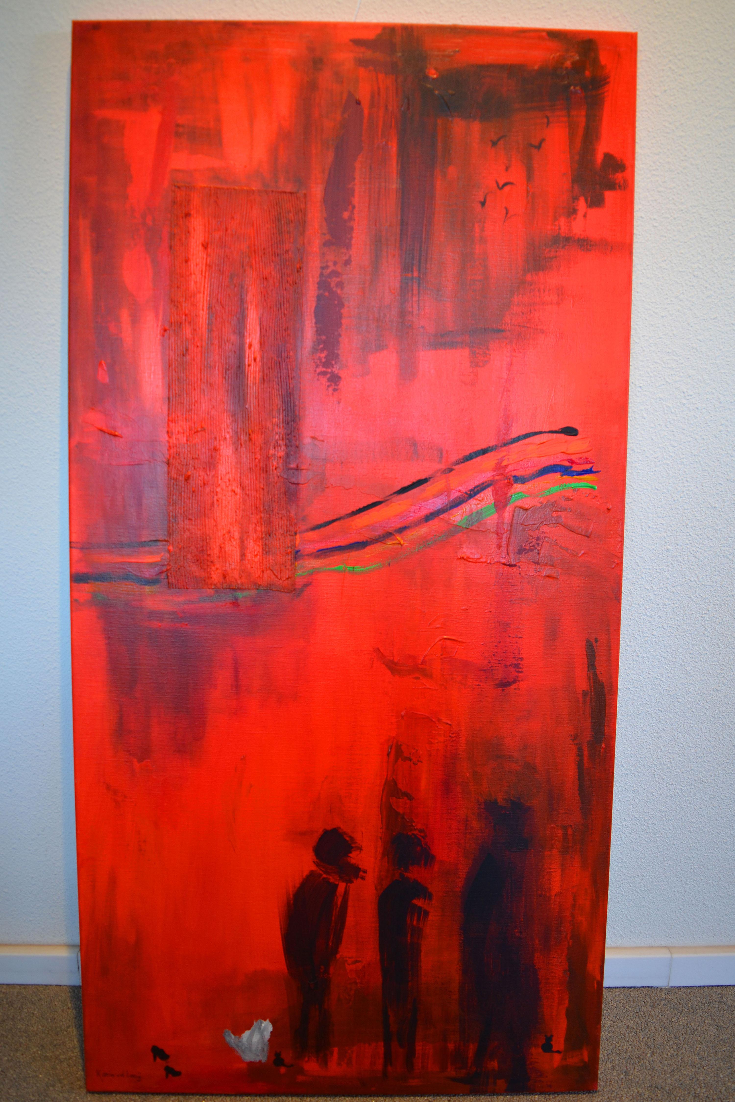 schilderij staand